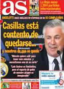Portada diario AS del 10 de Junio de 2014
