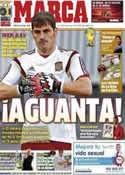 Portada diario Marca del 10 de Junio de 2014