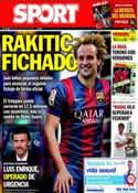 Portada diario Sport del 10 de Junio de 2014