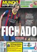 Portada Mundo Deportivo del 10 de Junio de 2014
