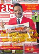 Portada diario AS del 11 de Junio de 2014