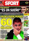 Portada diario Sport del 11 de Junio de 2014