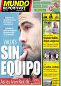 Portada Mundo Deportivo del 11 de Junio de 2014