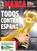Portada diario Marca del 12 de Junio de 2014