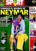 Portada diario Sport del 12 de Junio de 2014