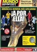 Portada Mundo Deportivo del 12 de Junio de 2014