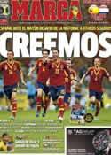 Portada diario Marca del 13 de Junio de 2014