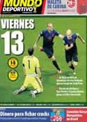 Portada Mundo Deportivo del 14 de Junio de 2014