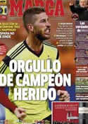 Portada diario Marca del 15 de Junio de 2014
