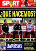 Portada diario Sport del 15 de Junio de 2014