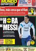 Portada Mundo Deportivo del 15 de Junio de 2014