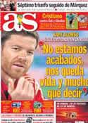 Portada diario AS del 16 de Junio de 2014
