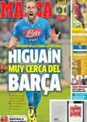 Portada diario Marca del 16 de Junio de 2014