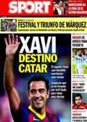 Portada diario Sport del 16 de Junio de 2014