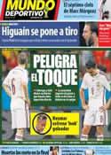 Portada Mundo Deportivo del 16 de Junio de 2014