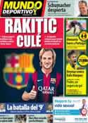 Portada Mundo Deportivo del 17 de Junio de 2014