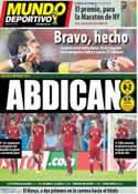 Portada Mundo Deportivo del 19 de Junio de 2014