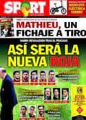 Portada diario Sport del 20 de Junio de 2014