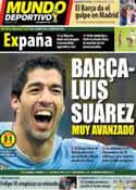 Portada Mundo Deportivo del 20 de Junio de 2014
