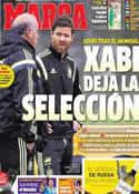 Portada diario Marca del 21 de Junio de 2014