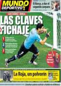 Portada Mundo Deportivo del 21 de Junio de 2014