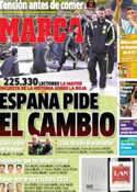 Portada diario Marca del 22 de Junio de 2014