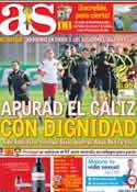Portada diario AS del 23 de Junio de 2014