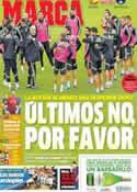 Portada diario Marca del 23 de Junio de 2014