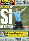 Portada Mundo Deportivo del 23 de Junio de 2014