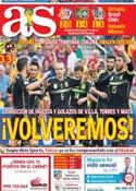 Portada diario AS del 24 de Junio de 2014