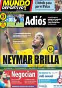 Portada Mundo Deportivo del 24 de Junio de 2014