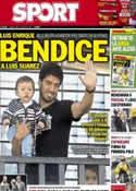 Portada diario Sport del 28 de Junio de 2014