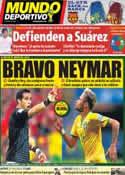 Portada Mundo Deportivo del 28 de Junio de 2014