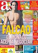 Portada diario AS del 29 de Junio de 2014