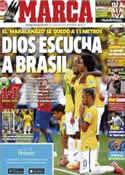 Portada diario Marca del 29 de Junio de 2014