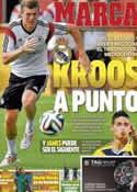 Portada diario Marca del 30 de Junio de 2014