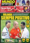 Portada Mundo Deportivo del 30 de Junio de 2014
