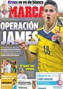 Portada diario Marca del 1 de Julio de 2014