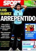 Portada diario Sport del 1 de Julio de 2014