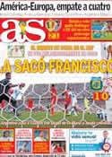 Portada diario AS del 2 de Julio de 2014