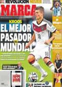 Portada diario Marca del 2 de Julio de 2014