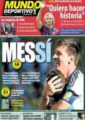Portada Mundo Deportivo del 2 de Julio de 2014