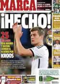 Portada diario Marca del 3 de Julio de 2014