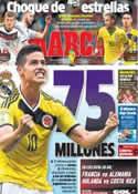 Portada diario Marca del 4 de Julio de 2014