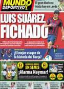 Portada Mundo Deportivo del 5 de Julio de 2014