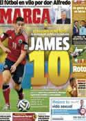 Portada diario Marca del 6 de Julio de 2014