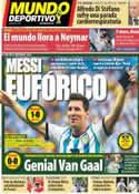 Portada Mundo Deportivo del 6 de Julio de 2014