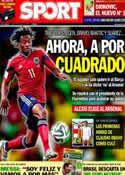 Portada diario Sport del 7 de Julio de 2014