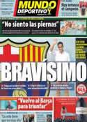 Portada Mundo Deportivo del 7 de Julio de 2014