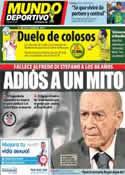 Portada Mundo Deportivo del 8 de Julio de 2014